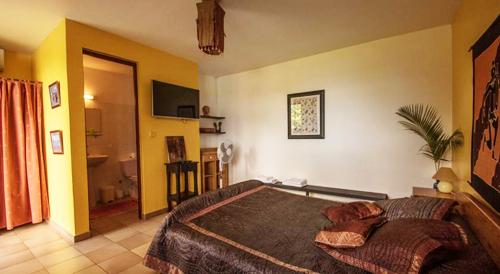 Grande chambre avec terrasse
